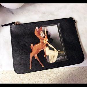 Auth. Givenchy Rare Bambi Antigonia Pouch